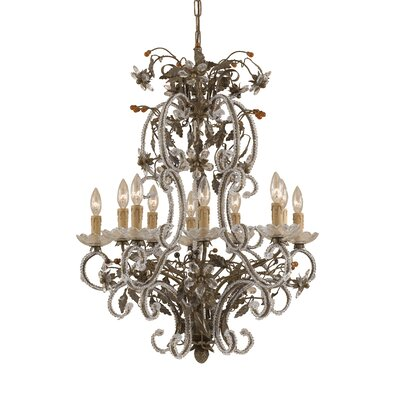 Bella Uva 6-Light Candle-Style Chandelier