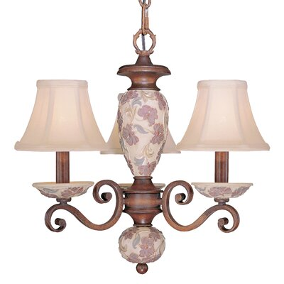 Tapestry 3-Light Mini Chandelier