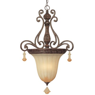 Riviera 3-Light Inverted Pendant