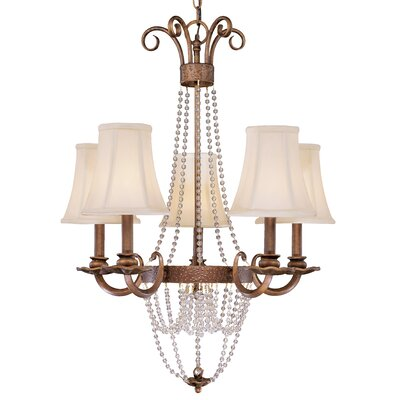 Grace 5-Light Shaded Chandelier