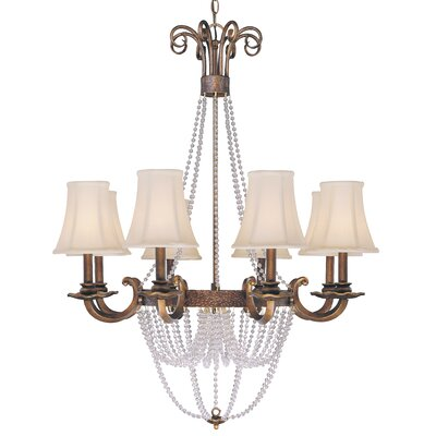 Grace 8-Light Shaded Chandelier