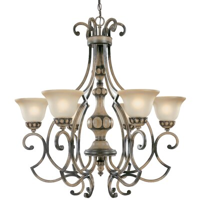 Westchester 6-Light Shaded Chandelier