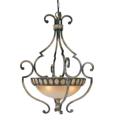 Westchester 4-Light Inverted Pendant