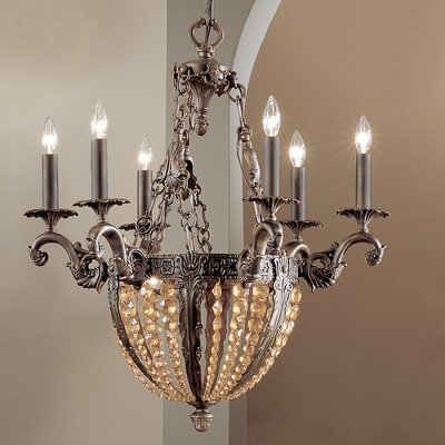 Merlot 9-Light Crystal Chandelier