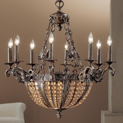 Merlot 12-Light Crystal Chandelier