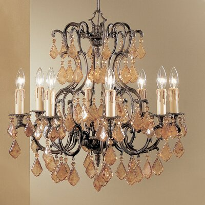 Parisian 8-Light Crystal Chandelier Crystal Type: Crystalique-Plus
