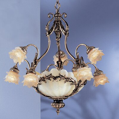 La Paloma 12-Light Shaded Chandelier Finish: Antique Bronze