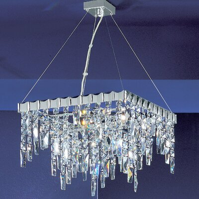 Uptown 5-Light Crystal Chandelier Crystal Type: Crystalique Plus