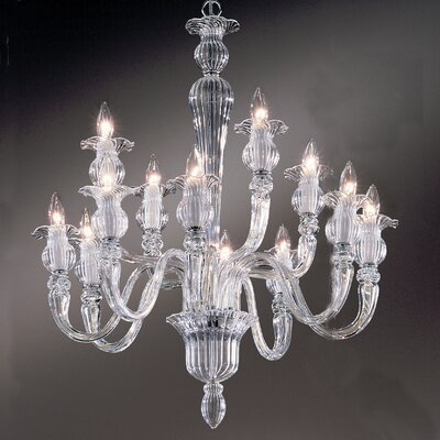 Palermo 12-Light Crystal Chandelier