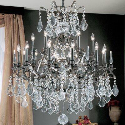 Versailles 25-Light Crystal Chandelier