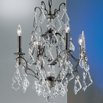 Versailles 4-Light Crystal Chandelier