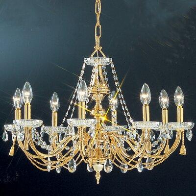 Vienna 8-Light Crystal Chandelier