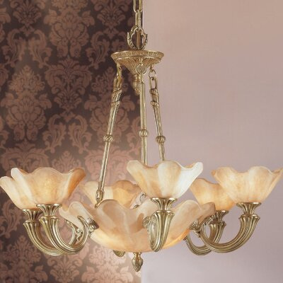 Atlantis 9-Light Shaded Chandelier Finish: Matte Bronze