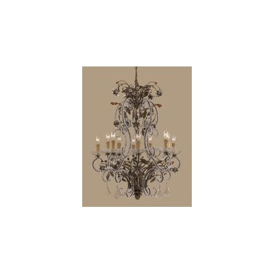Bella Uva 10-Light Candle-Style Chandelier