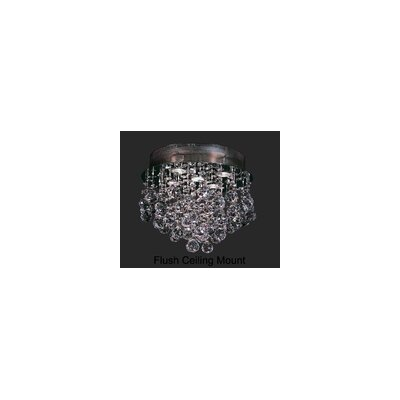 Andromeda 5-Light Semi-Flush Mount Height: 12