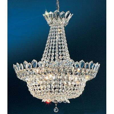 Tiara Crystal 8-Light Crystal Chandelier