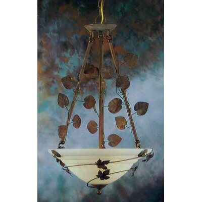 Cortina 3-Light Bowl Pendant