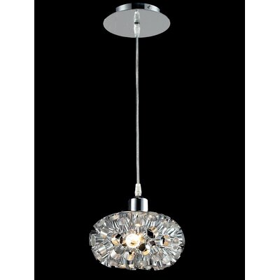 Laguna 1-Light Globe Pendant Finish: Chrome