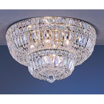 Empress 9-Light Semi-Flush Mount Crystal Type: Swarovski Spectra