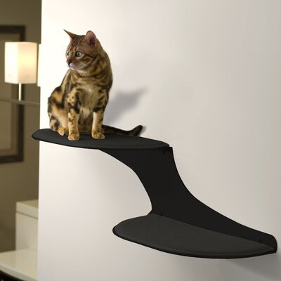 10 Clouds Wall Mounted Cat Perch Cloud Direction: Left Facing, Color: Titanium