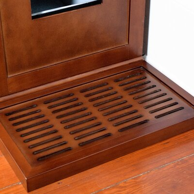 Fredrick Litter Catch for the Refined Litter Box Enclosure Color: Mahogany