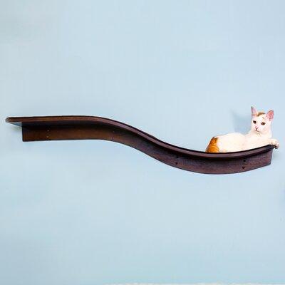 Lotus Branch Cat Perch Color: Mahogany
