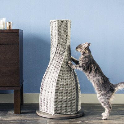 Calypso Cat Scratching Post Color: Smoke