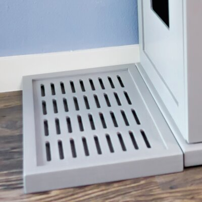 Fredrick Litter Catch for the Refined Litter Box Enclosure Color: Smoke