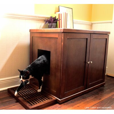 Francisca The Refined Litter Box Finish: Mahogany, Size: XLarge