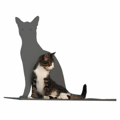 Silhouette Cat Perch Color: Titanium