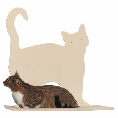 Silhouette Prance Cat Perch Color: Off-White