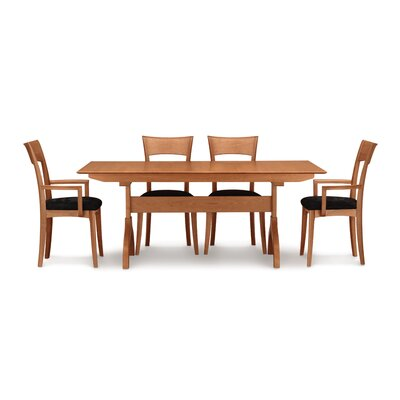 Sarah Extendable Dining Table Finish: Saddle Cherry