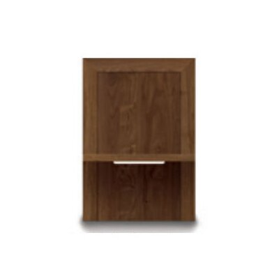 Moduluxe 1 Drawer Nightstand Color: Slate Maple