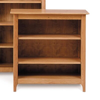 Sarah Bookcase Finish: Smoke Cherry, Size: 58 H x 34 W x 16 D, Top Coat: Conventional Product Image 88
