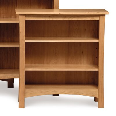 Berkeley Bookcase Finish: Natural Cherry, Size: 74.75 H x 33.75 W x 15.5 D, Top Coat: Conventional Product Image 1626