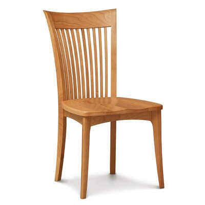 Sarah Solid Wood Dining Chair Finish: Saddle Cherry