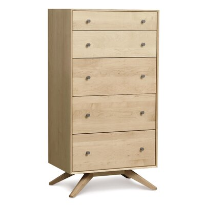 Astrid 5 Drawer Chest Color: Natural Maple
