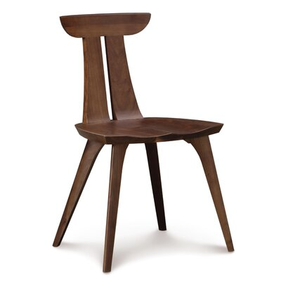 Estelle Side Chair Finish: Natural Walnut