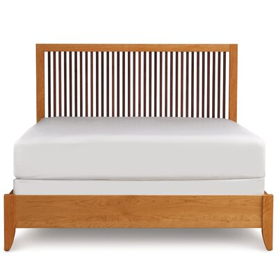 Dominion Panel Bed Size: King, Finish: Saddle Cherry