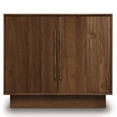 Moduluxe 2 Door Dresser Color: Natural Cherry