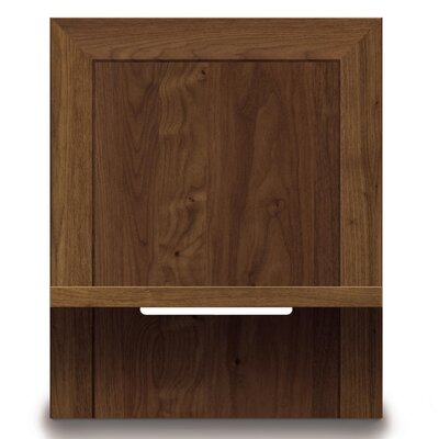 Moduluxe Nightstand Color: Dark Chocolate Maple