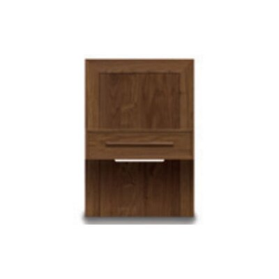 Moduluxe 1 Drawer Nightstand Color: Cognac Cherry