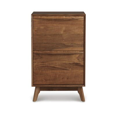 Catalina 2-Drawer Lateral File Finish: Conventional Walnut