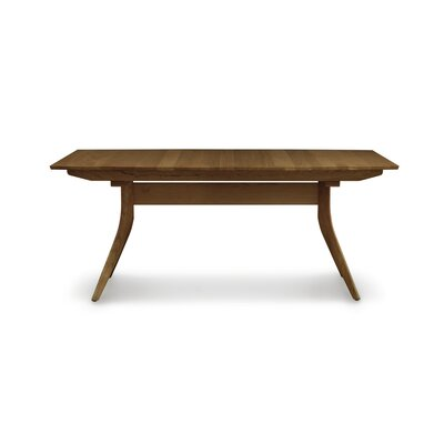 Catalina Extendable Dining Table Size: 30 inch H x 40 inch W x 60 inch D, Finish: Walnut