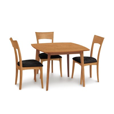 Catalina Square Dining Table Finish: Cognac Cherry