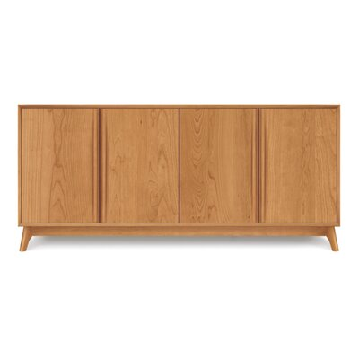 Catalina 4 Door Sideboard Color: Natural Cherry