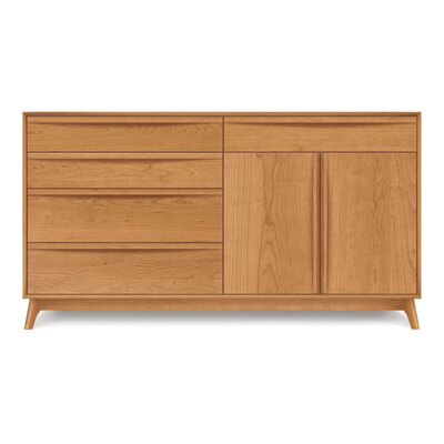 Catalina Sideboard Color: Saddle Cherry