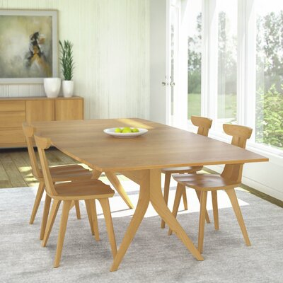Catalina Extendable Dining Table Finish: Natural Cherry, Size: 30