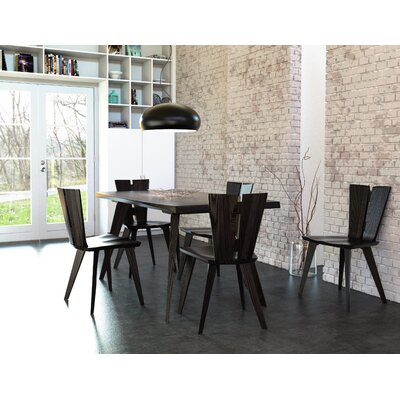 Axis Dining Table Finish: Sand Ash, Size: 30 H x 72 W x 42 D