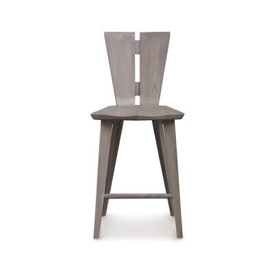 Axis Bar Stool Color: Weathered Ash